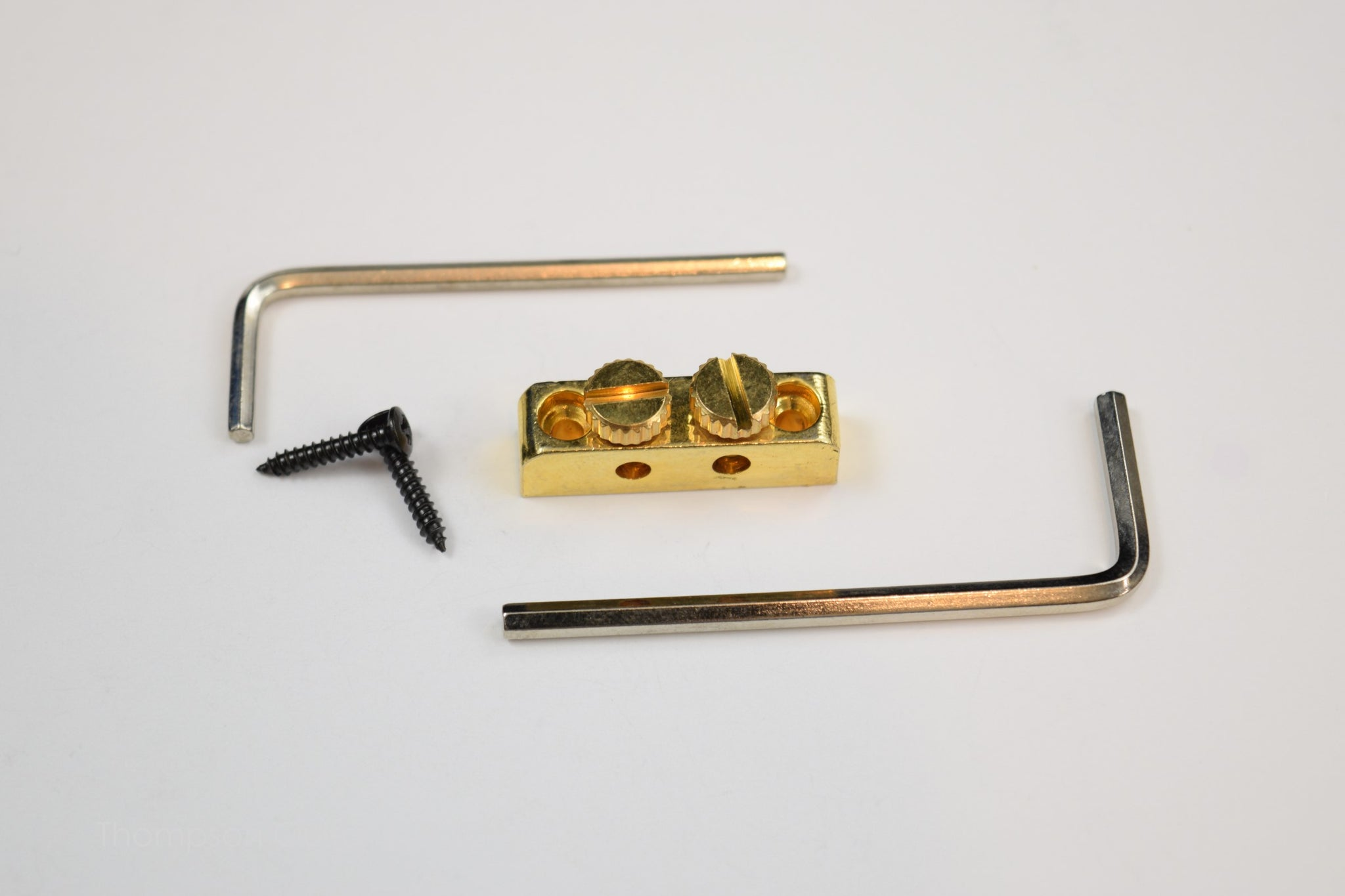 Gold Allen Wrench Holder Kit
