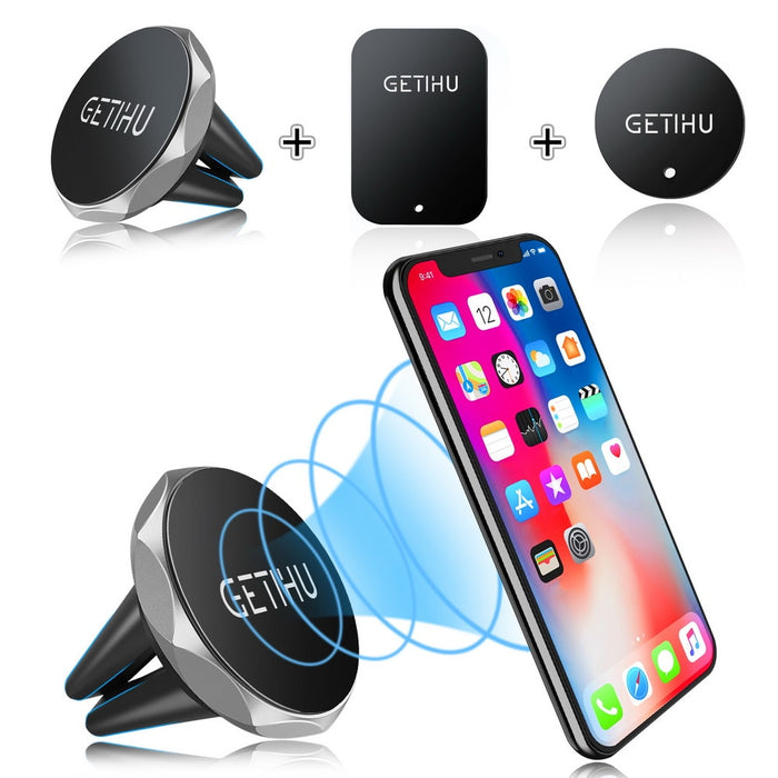 GETIHU Magnetic Air Vent Mount Phone Holder