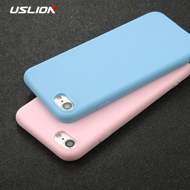 USLION Ultra thin Shockproof Phone Case
