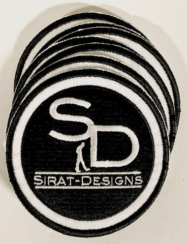 Sirat Logo Iron on Patches - SiratDesigns.Com