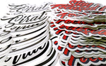 Sirat Logo Die Cut Sticker 2x4 in.