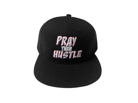 Pray Then Hustle - Snapback