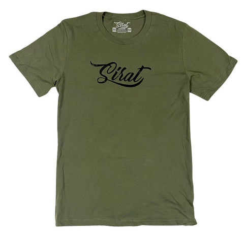 Sirat Logo T Shirt - Military Green
