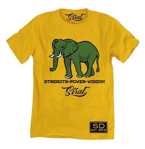 Wise Elephant T-Shirt - SiratDesigns.Com