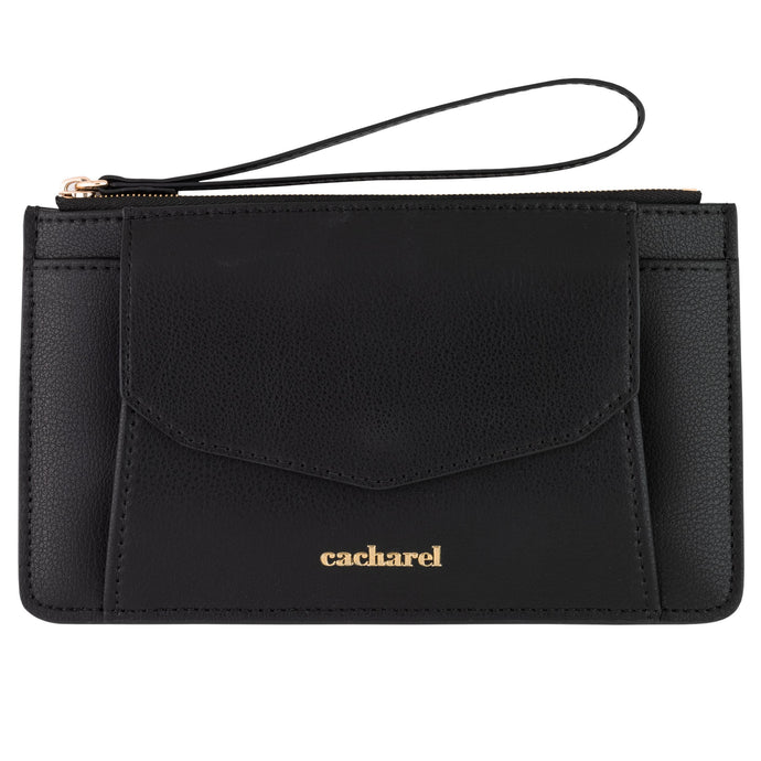 CEN035A - Cacharel Small clutch Timeless Black