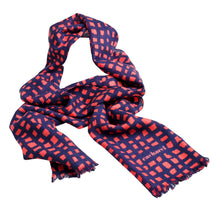Load image into Gallery viewer, CFR207 - Cacharel Wool Scarf Quatuor Red
