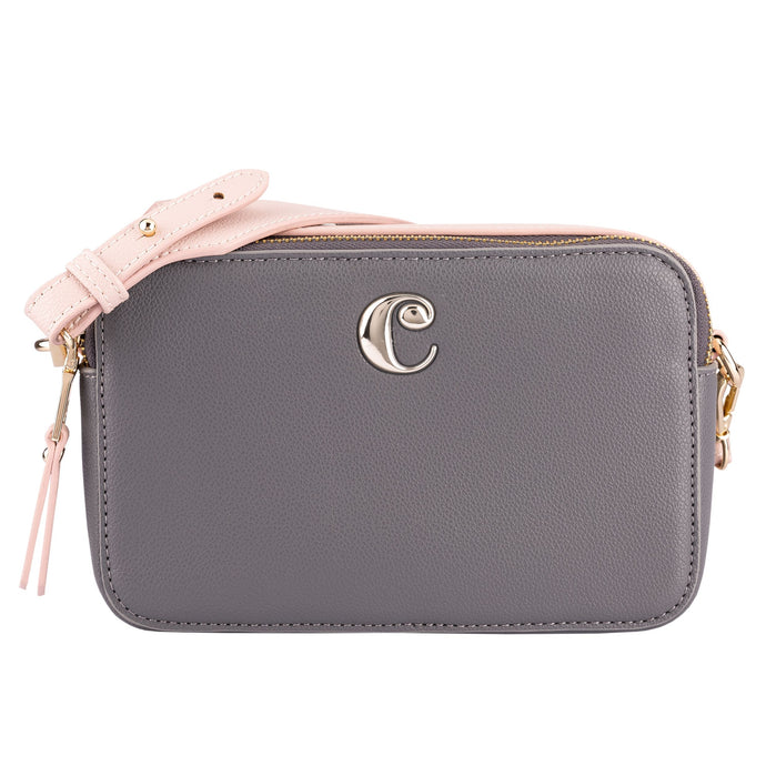 CTW036Y - Cacharel Camera bag Garance Taupe