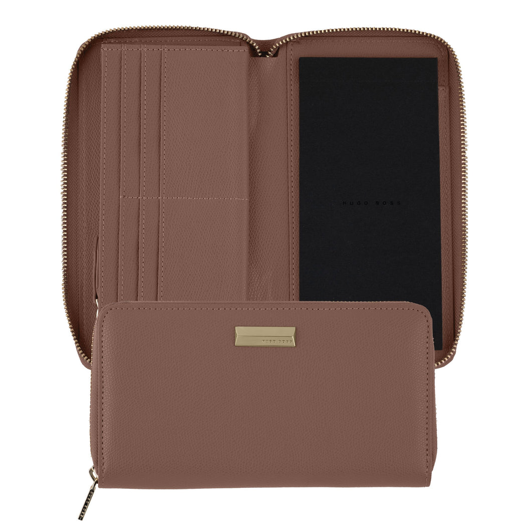 HEV006X - Hugo Boss Notebook cover Vivid Blush