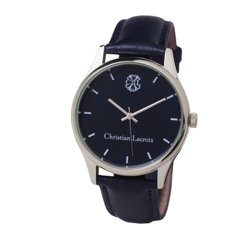 LMN454 - Christian Lacroix Watch Poursuite Blue
