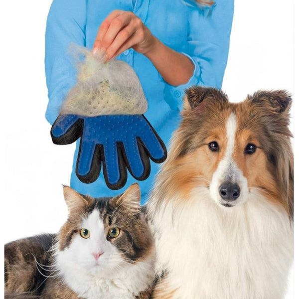 Pet Hair Remover Glove for Dog & Cat