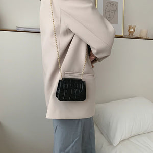 Mini Shelia Black Crossbody Bag Amkaysha