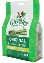 Load image into Gallery viewer, Greenies Teenie Original Dental Dog Chews