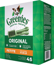 Load image into Gallery viewer, Greenies Petite Original Dental Dog Chews