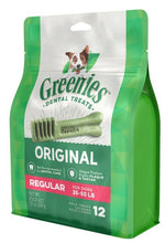 Load image into Gallery viewer, Greenies Regular Original Dental Dog Chews