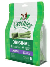 Load image into Gallery viewer, Greenies Large Original Dental Dog Chews