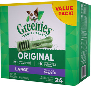 Greenies Large Original Dental Dog Chews