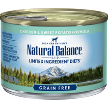 Load image into Gallery viewer, Natural Balance L.I.D. Limited Ingredient Diets Chicken and Sweet Potato Formula Canned Dog Food