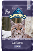 Load image into Gallery viewer, Blue Buffalo Wilderness Grain Free Chicken Recipe Dry Cat Food