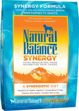 Load image into Gallery viewer, Natural Balance SYNERGY Ultra Dog Formula Dry Dog Food