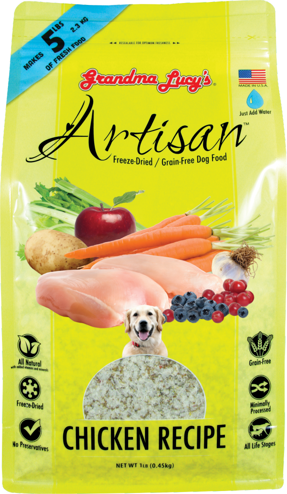 Grandma Lucy's Artisan Grain Free Chicken Freeze Dried Dog Food
