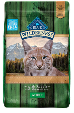 Blue Buffalo Wilderness Rocky Mountain Recipe with Rabbit Dry Cat Food