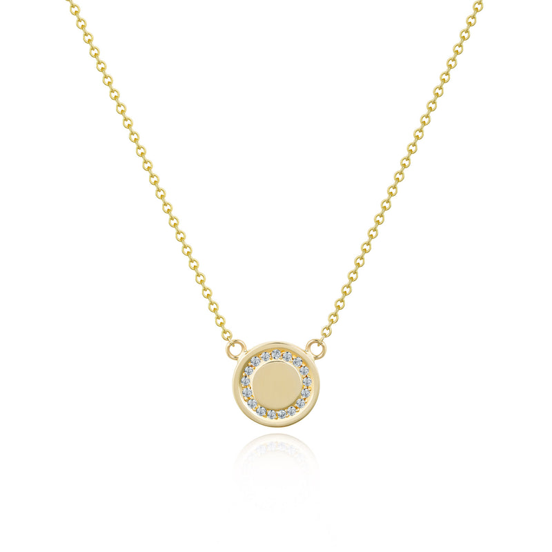 Love & Hope Infinity Gold Pendant