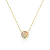 Love & Hope Infinity Gold Rainbow Pendant