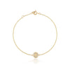 Love & Hope Infinity Gold Bracelet