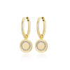 Love & Hope Infinity Gold Hoop Earrings