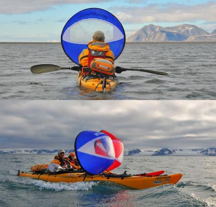 Foldable Kayak Sail
