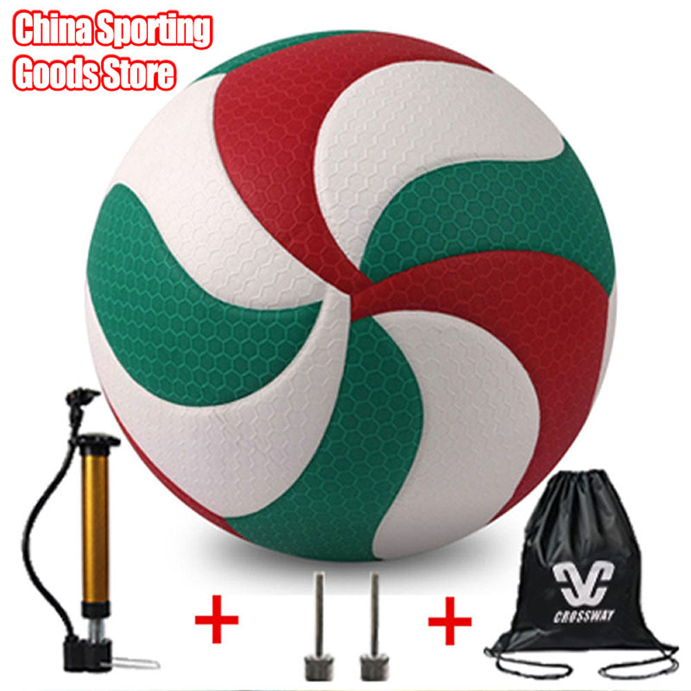 Beautiful volleyball vsm5000 size 5 high quality volleyball outdoor sports training free air pump needle bag