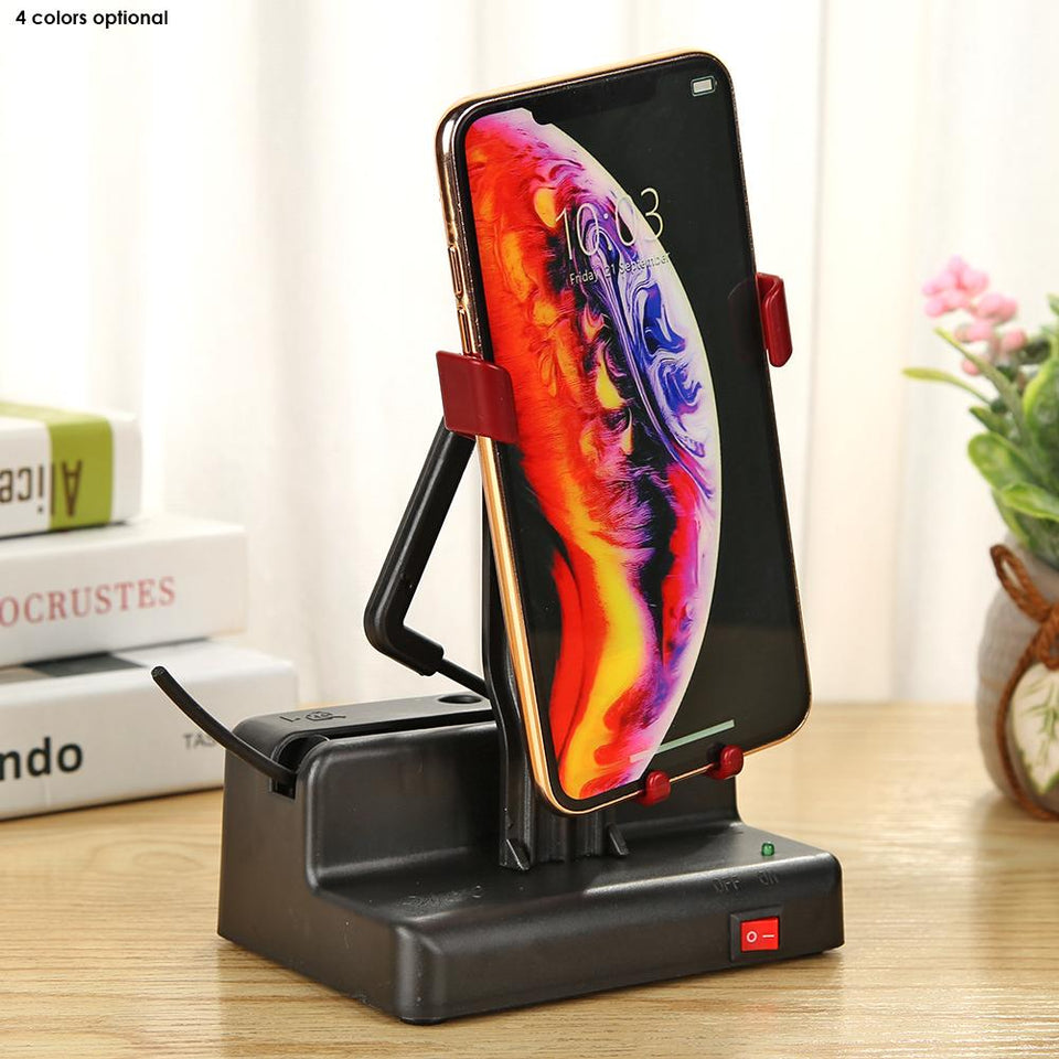 Phone Swing Automatic Shake Motion Brush Step Safety Wiggler with USB Cable Smart Automatic Phone Shaker Swinger Step Shaker