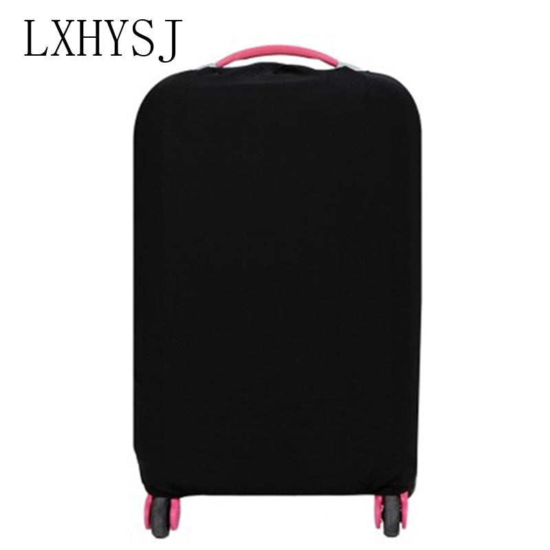 Solid color Travel suitcase dust cover  Luggage Protective Cover  For 18-30 inch  Trolley case dust cover Travel Accessories