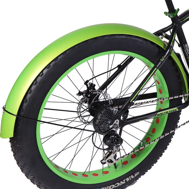 wolf's fang Snowmobile Bicycle wings Bicycle fender wing bike Iron material Strong durable Full coverage Snow bike
