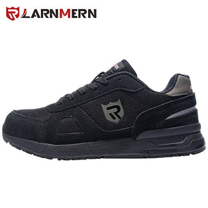 Men's Work Safety Shoes Steel Toe Construction Sneaker Breathable Lightweight Anti-smashing Anti-static Non-slip shoe