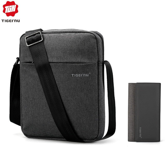 Portable messenger bag set
