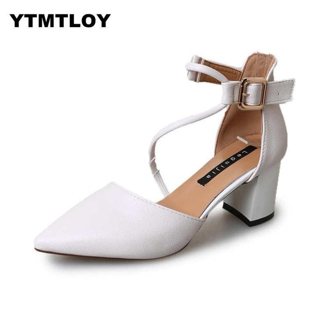 New Hot Summer Women Shoes Pointed Toe Pumps Dress High Heels Boat Wedding