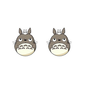 My Neighbor Totoro Acrylic Earring Cute Totoro Plastic Earring Anime Epoxy Resin Stud Earrings