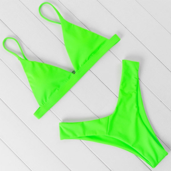 Brand Swimwear Women Swimsuit Sexy Push Up Micro Bikinis Set Swimming Bathing Suit Beachwear Summer Brazilian Bikini