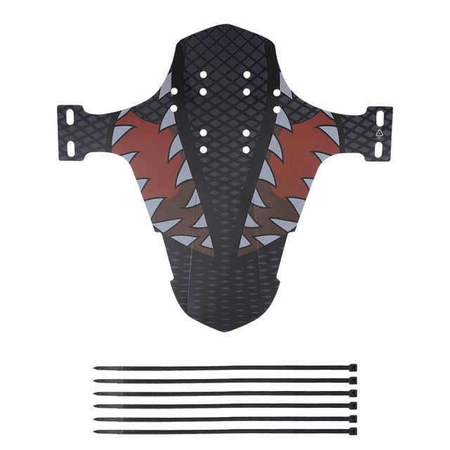 Bicycle Fenders Colorful Front/Rear Tire Wheel Fenders Carbon Fiber Mudguard MTB Mountain Bike Road Cycling Fix Gear Accessories