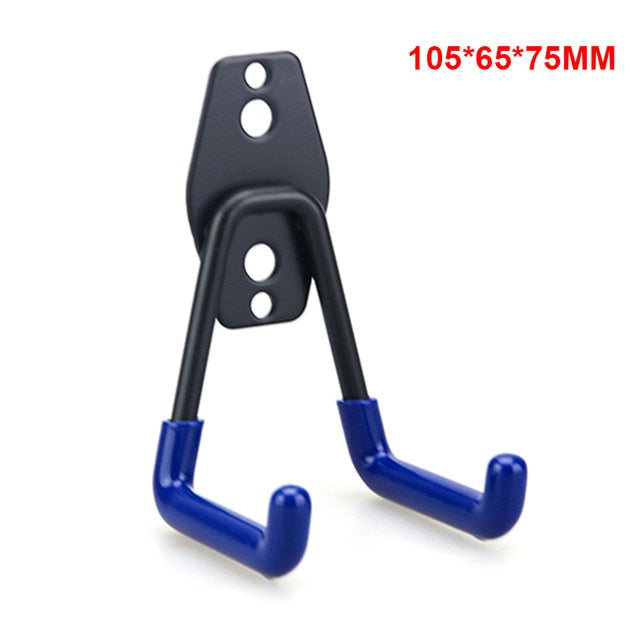Heavy Duty Metal Hook Garage Organizer Wall Mount Bicycle Hanger Hooks Wall Mount Anti-slip Storage Hook For Ladders Garden Tool