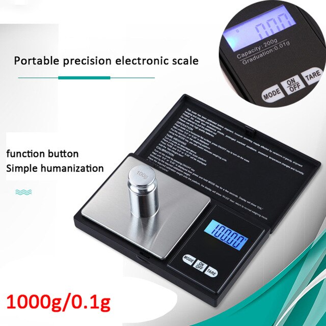 New Electronic Digital Kitchen Food Scale 5kg 5000g/1g Digital Scale Kitchen Food Diet Postal Scale Weight Scales Balance