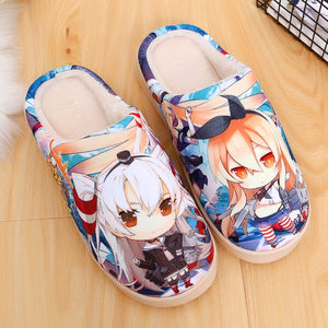 Men Slippers women for kids man shoes woman slides plush fur new home indoor funny Anime Men's Slippers casual flat fish