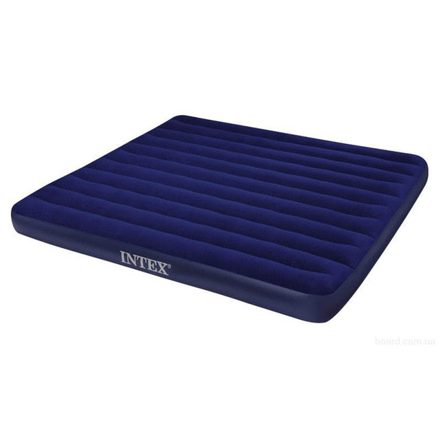 Inflatable mattress bed for home or tourism for swimming