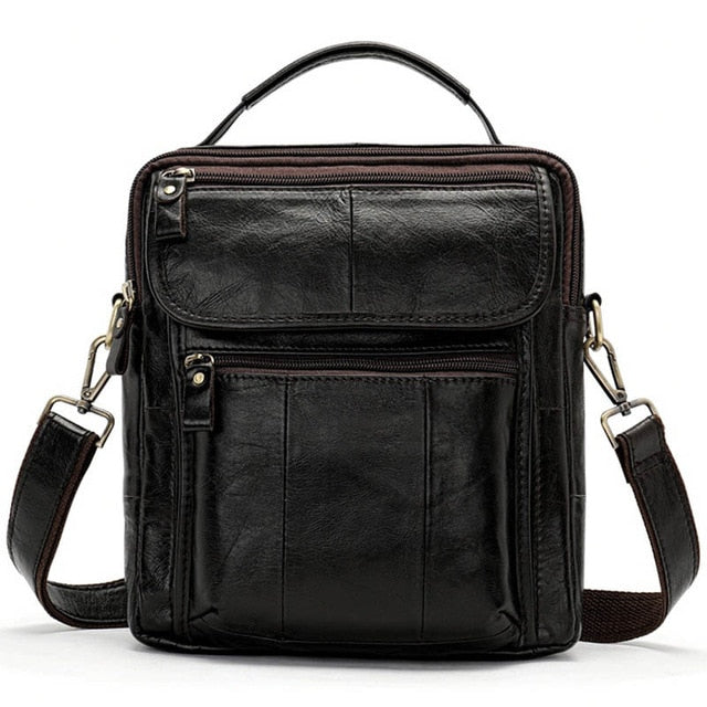Men's Bag Genuine Leather Crossbody Bags for Men Messenger Bag Men Leather Designer Men's Shoulder Bags Male Handbag