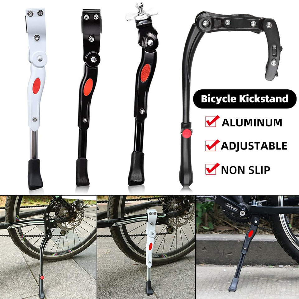 Bicycle Bike Kickstand Adjustable MTB Road Bicycle Side Kickstand Bike Parking Stand Support Foot Bicycle Brace Cycling Parts