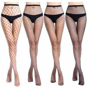 women high waist fishnet stocking fishnet club tights panty knitting net pantyhose trouser mesh lingerie tt016 1pcs/lot