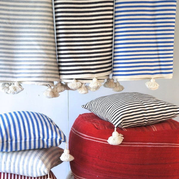 MINZA STRIPE THROW