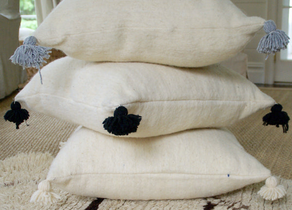FAS WOOL PILLOW COVER