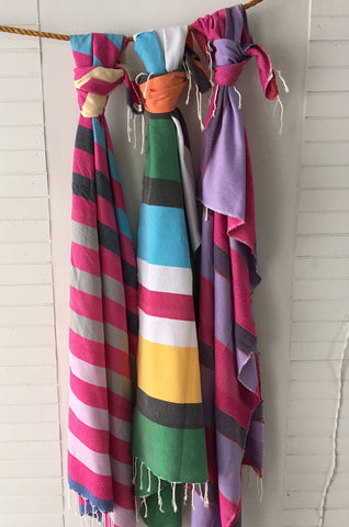 BAREK FOUTA SET PINK/SALE